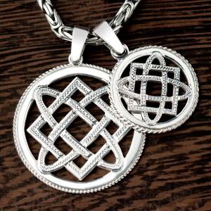 Звезда Лады-богородицы из серебра
